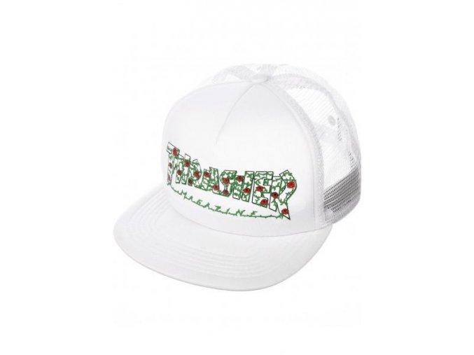 Thrasher Caps Roses Mesh white Vorderansicht 600x600