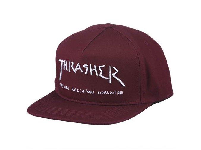 rd thrasher new religion snapback maroon2