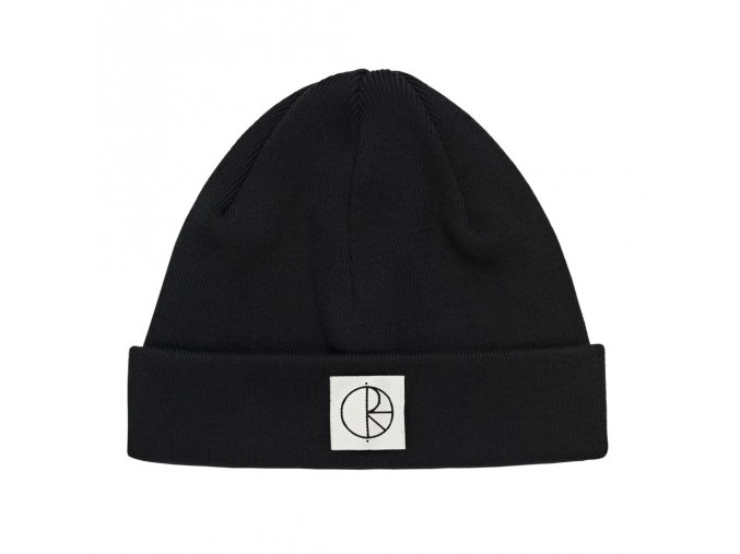 COTTON BEANIE BLACK