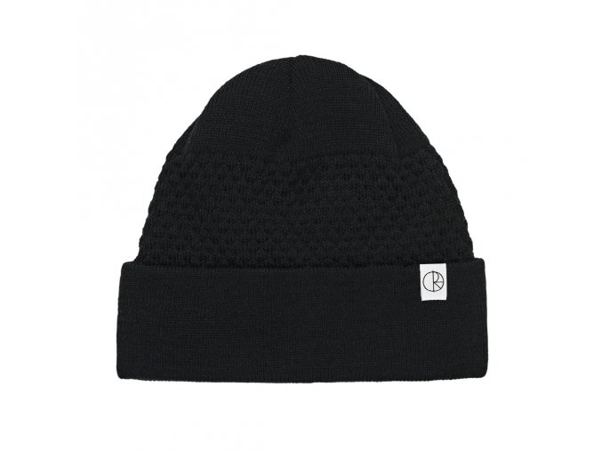 WOBBLE BEANIE BLACK
