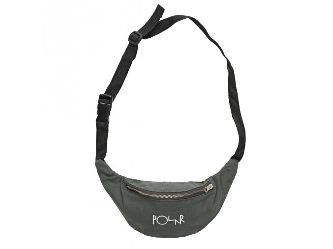 SCRIPT LOGO HIP BAG GREY GREEN