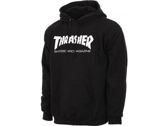 THRASHER SKATEMAG HOOD BLACK