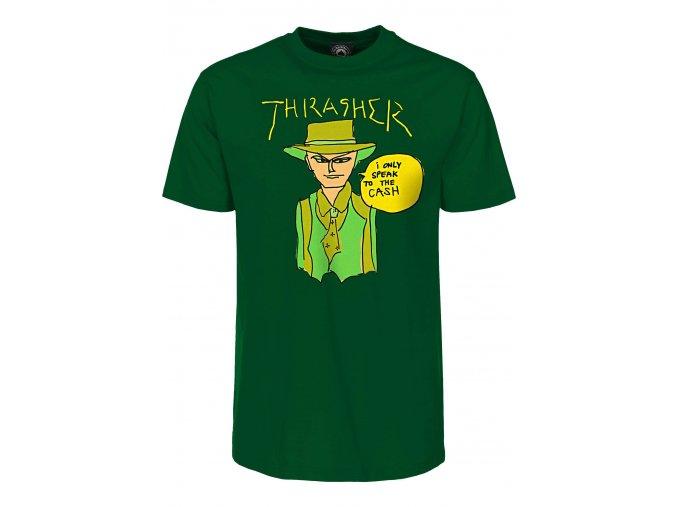 thrasher t shirts gonz cash forestgreen vorderansicht 0399150 1280x1280@2x