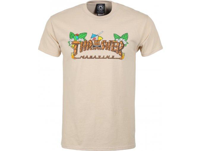thrasher tiki t shirt sand
