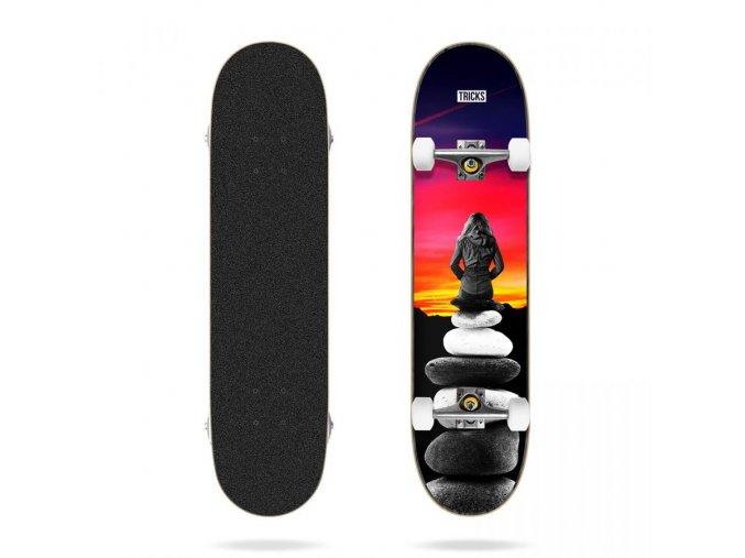 tricks landscape 8 0 complete skateboard