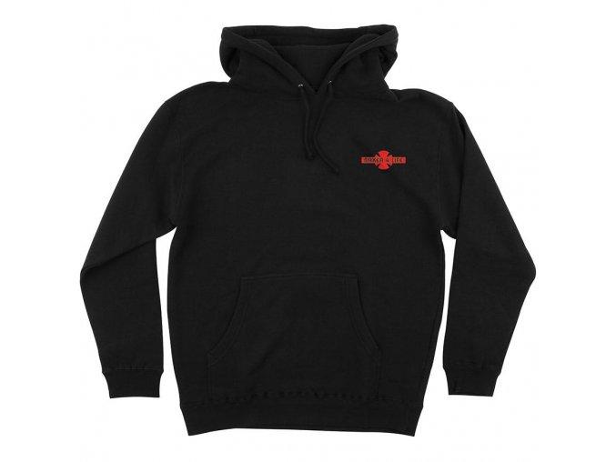 independent x baker 4 life hoodie black