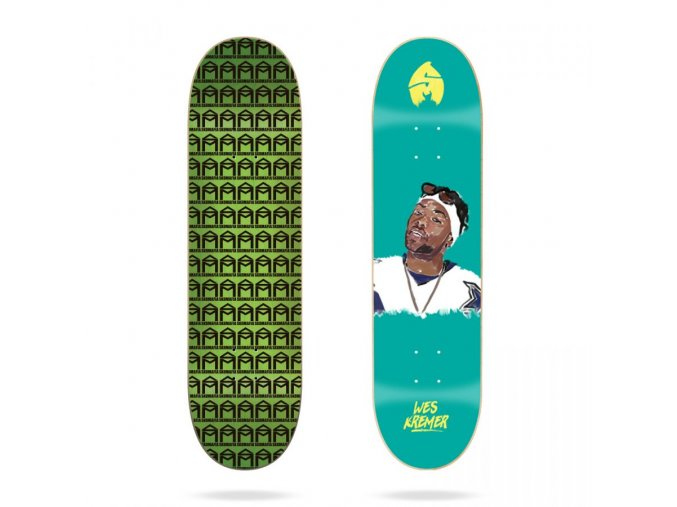 sk8mafia wes kremer 4eva 8 skateboard deck
