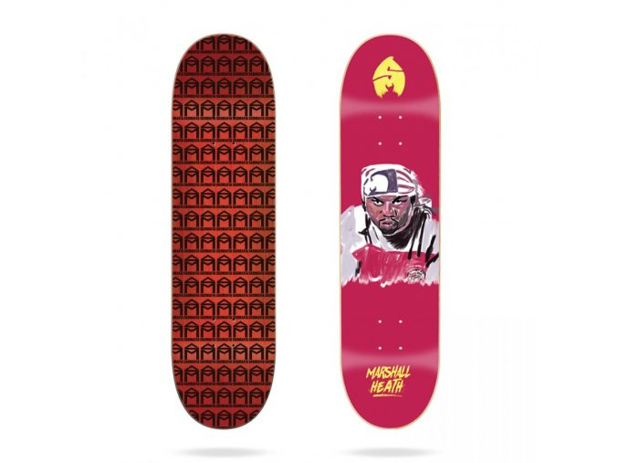 sk8mafia marshall heath 4eva 8 1 skateboard deck