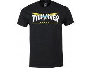 THRASHER x VENTURE COLLAB TEE BLACK