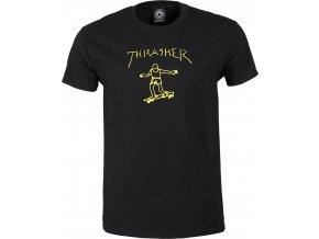 THRASHER GONZ TEE BLACK