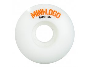 mini logo c cut white wheels 51mm 1