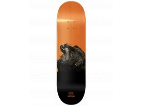 the wolf orange deck