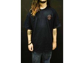 SPITFIRE TEE BIGHEAD CLASSIC NAVY/RED