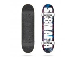 product s k sk8mafia og logo stencil pink and blue 8 0 complete skateboard