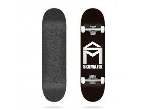 product s k sk8mafia house logo black 7 75 complete skateboard 2