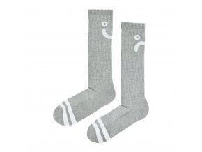 vyr 16526OcytaXlSS62ESDAUqA2 UPSIDE DOWN HAPPY SAD SOCKS HEATHER GREY 1024x1024