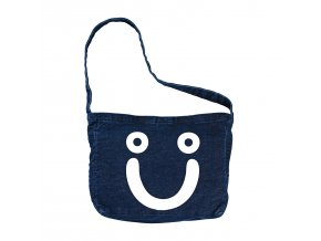 vyrp11 1229Happy Sad Tote Bag Dark Blue 1