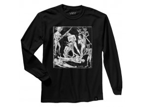 ANTIZ hades black LS tee white
