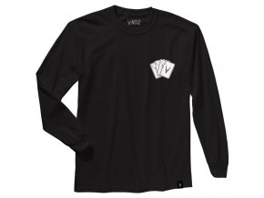 ANTIZ aces black LS tee