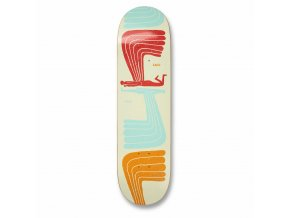 UDTEM3E WINGWING UMA SKATEBOARD DECK Nathanial Russell Bottom