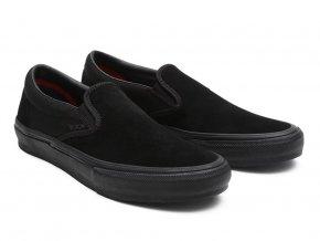 Vans Skate Slip On Schuhe Black Black 20210309150504 8