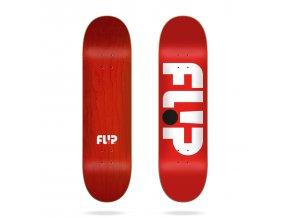 flip odyssey logo red 8 25 deck