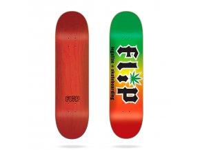 product f l flip hkd legalize rasta 8 25 skateboard deck