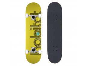 habitat skateboard komplett eclipse yellow