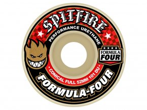 SPITFIRE FORMULA FOUR 101DURO CONICAL FULL 52MM