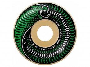 spitfire formula four venomous radial slim 101d 52mm skateboard wheels