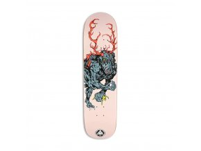 Welcome Wendigo on Bunyip 8 Skateboard Deck Rose 5