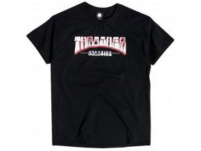 thrasher t shirts firme logo black vorderansicht 0324218 600x600