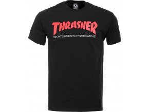 vyr 1291thrasher two tone skate mag t shirt black