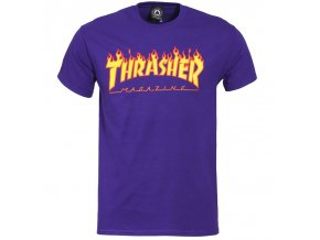 vyr 2052thrasher flame t shirt purple 1