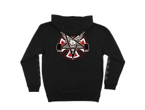 IN PentagramCross Pullover Black Back