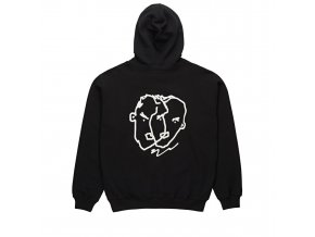 TWO SIDED HOODIE BLACK 2