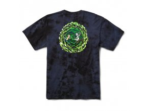 PRIMITIVE x RICK AND MORTY NUEVO PORTAL TEE NAVY WASHED