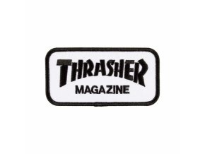 large 76086 Thrasher MagLogo Patch BlackWhite