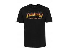 thrasher t shirts bbq black vorderansicht 0399148