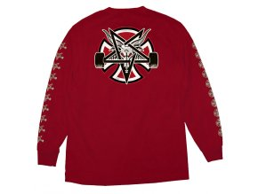 IN THR PentaCross LS CardinalRed Back