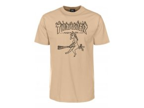 thrasher t shirts witch tan vorderansicht 0399149 600x600