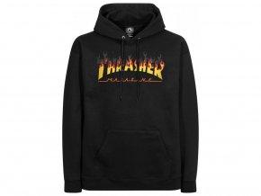 7742 thrasher hoodies bbq black vorderansicht 0445101