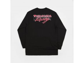 THRASHER RACING LONG SLEEVE TEE BLACK BACK 1024x1024