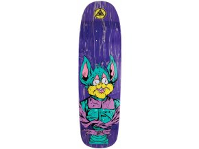 welcome shame 925 golem shape skateboard deck navy