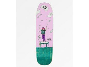Welcome Nora Magilda Purple & Teal 8.6%22 Skateboard Deck 308750 front US