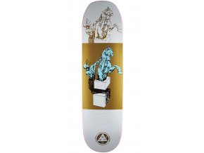 welcome hierophant on moontrimmer 2 0 skateboard complete white gold 8 5 2.1506734322