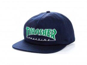 8057 thrasher outlined cap navy
