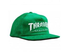thrasher corduroy logo snapback green 1024x1024