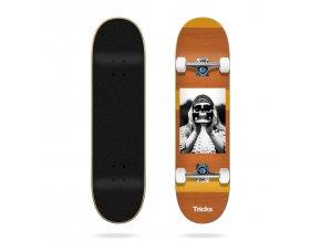tricks acid burguer 8 0 complete skateboard