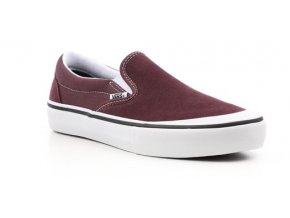 VANS SLIP-ON PRO RAISIN / WHITE